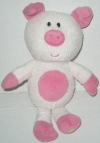 Cochon luminou rose peluche luminescente Jemini - Luminou