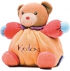 Doudou ours orange Pop Kaloo