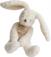 Peluche lapin blanc sweety couture 24 cm HO2643 Histoire d'ours