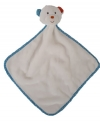 Doudou ours blanc carré Jurong Kangning Plush Factory Marques diverses