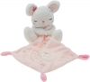 Doudou souris blanche et rose Love lune Simba Toys (Dickie)