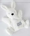 Doudou marionnette lapin blanc You make me happy Simba Toys (Dickie)