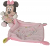 Minnie rose floral peluche avec doudou Disney Baby - Nicotoy - Simba Toys (Dickie)