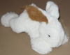Peluche lapin couché blanc et marron 26 cm Nicotoy - Simba Toys (Dickie)