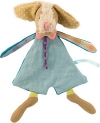 Doudou chien vert Tartempois Moulin Roty