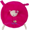 Doudou ours rose rond Tuc Tuc