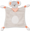 Doudou koala gris et orange Baby Club