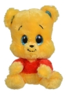 Peluche Winnie jaune et rouge à grands yeux Disney Baby - Nicotoy - Simba Toys (Dickie)