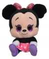 Peluche Minnie Noir rose et violet à grands yeux Disney Baby - Nicotoy - Simba Toys (Dickie)