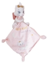 Peluche chat Marie blanc et rose avec mouchoir Disney Baby - Nicotoy - Simba Toys (Dickie)