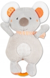 Peluche koala musical gris et orange Baby Club