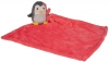 Peluche pingouin gris avec couverture rose Nicotoy - Simba Toys (Dickie)