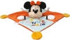 Doudou Minnie mouse orange et bleu Disney Baby - Nicotoy - Simba Toys (Dickie)