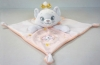 Doudou Marie chat rose et blanc Disney Baby - Nicotoy - Simba Toys (Dickie)