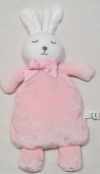 Doudou lapin rose et blanc ruban ESPA Intercommerce - Shenzen m&j Toys - Marques diverses