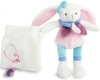 Peluche lapin rose Berry BN0241 Baby Nat