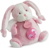 Peluche lapin rose musical BN0272 Baby Nat