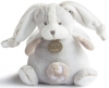 Peluche lapin gris taupe musical BN0280 Baby Nat