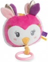 Chouette rose Melle Lou peluche musicale BN0380 Baby Nat