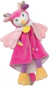 Doudou chouette rose Mlle Lou BN0378 Baby Nat