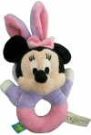 Hochet Minnie déguisée en lapin capuche violet Disney Baby - Nicotoy - Simba Toys (Dickie)