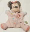 Doudou marionnette Minnie rose Disney Baby