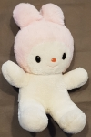 Peluche My Melody lapin rose et blanc Hello Kitty - Sanrio