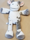 Peluche vache grise et blanche Nicotoy - Simba Toys (Dickie)