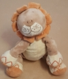 Peluche lion marron et orange musical Bengy - Amtoys