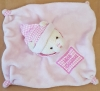 Ours Mon doudou rose vichy CP International