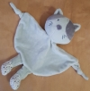Doudou chat gris Tom et Kiddy Marques diverses