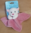 Doudou chat rose et blanc Espa Inter ESPA Intercommerce - Marques diverses